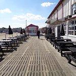 Britannia pier outside Long johns