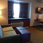 King suite -- Quality Inn and Suites, Staunton, VA