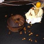 Cloulant casero de chocolate, 15 m. de espera que merecen la pena.