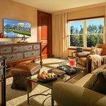 One Bedroom Spa Suite Living Room