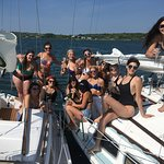 Rent multiple boats for your large group outing in Montauk.
