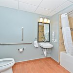 Mobility Accessible King Room Bathroom