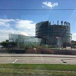 La parlement européen à Strasbourg