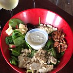my spinach/chicken salad