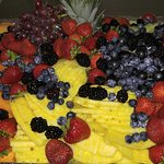 Fruit tray for catering