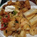 Awesome as always!!! The shrimp was so flavorful. Love this place!!