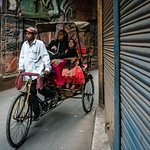 Moving around Old Delhi
