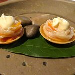 Geoduck, sea urchin & citrus
