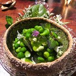 English pea and mint