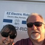 1-855-EZ2-RIDE. Bill and Edie Martin look forward to helping you enjoy a day in Falmouth on a Qu