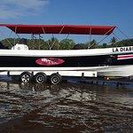 La Diabla means The devil ray. 35 feet boat with 500 hp Suzuki brand new engines