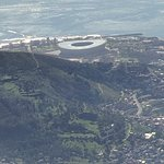 Beautiful view of Cape Town Stadium.