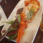 Grilled Half Lobster with Garlic Butter - Steak Side