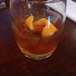 Chocolate Orange Old Fashioned - Whiskey with Grand Marnier and crème de cacao