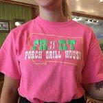 Waitress's T-shirt