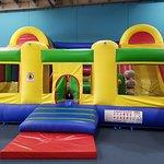 The bouncing castle