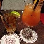 Rum Swizzle and a Dark n Stormy