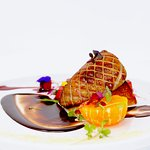 Roasted Hudson Valley Foie Gras ~ Pixie Tangerine ~ Spicy Chocolate