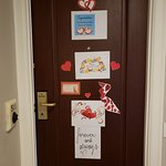 Our decorated door