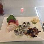 Sashimi lunch special - Yum!