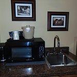 Little kitchenette Room 334.