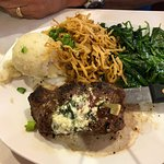 Great vegetarian options along with excellent steak