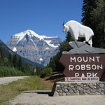 Entry to Mt Robson Park, from BC
