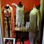 Garments on display at the Sitwell Museum