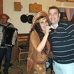 Eu com Malou Marinho
