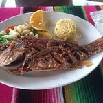 Huachinango. Red Snapper. Delicious.