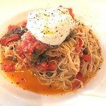 The capellini pomodoro is really good