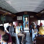 Pemandangan Kereta Wisata Ambarawa - Tuntang