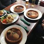 Large Yorkshire puddings