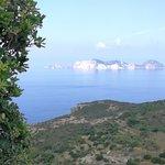Vista dell'Isola Palmarola dalla Struttura
