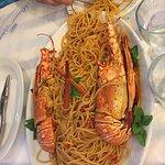 Mega spaghetti con ARAGOSTA