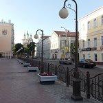 Вид на Кремль с улицы Мусы Джалиля