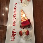 Complimentary anniversary gift