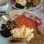 What else is there to say. Best breakfast ever. Beautifully cook with nice touch of Derbyshire o