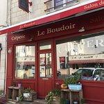 """La façade du Restaurant """"Le Boudoir"""" - Azay le Rideau"""