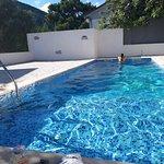 Peaceful swimming