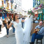 The streets of Galway are so full of life, and joy and surprises. One never knows what one will
