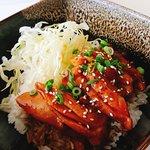 my teriyaki chicken on rice