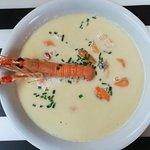 06232018 - Plat du Jour - Mussel Soup with shrimp and fennel