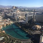 View from the balcony of the Cosmopolitan Hotel, Las Vegas
