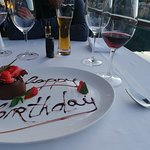 Birthday meal at Galion