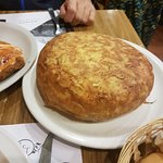 Tortilla de Papas tamaño bizcochuelo