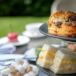 Afternoon Tea in the grounds of Kentisbury Grange Hotel