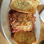Lasagna with Garlic Bread