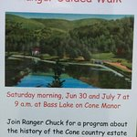 This is a great guided tour and takes a little over an hour to do the mile walk around the lake.