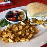 Breakfast is a new offering at Tom's!